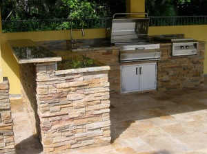 Outdoor Kitchen Alfresco Grill